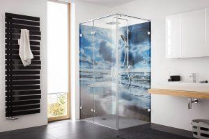 Bildmotive im Duschbereich